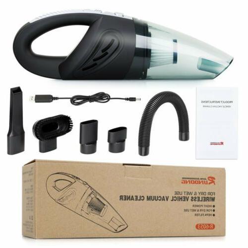 120W Wet Vacuum Car Cordless Hair