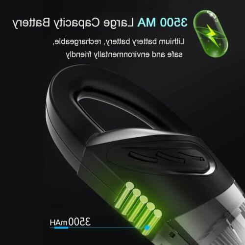 120W & Vacuum Cleaner Car Handheld Home Hair