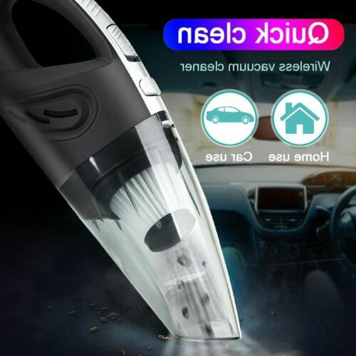 120W Vacuum Cleaner Handheld Rechargeable Hair