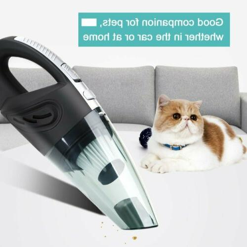 120W Wet & Dry Vacuum Cleaner Car Handheld Pet Hair