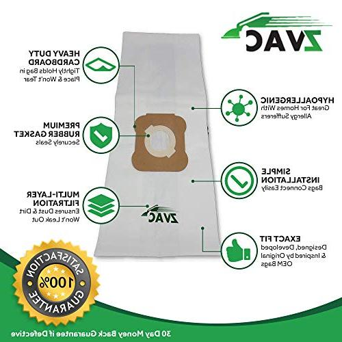 ZVac Bags for All Kirby G5, G6, Sentria-Before 2009. Replaces Parts# 204803,