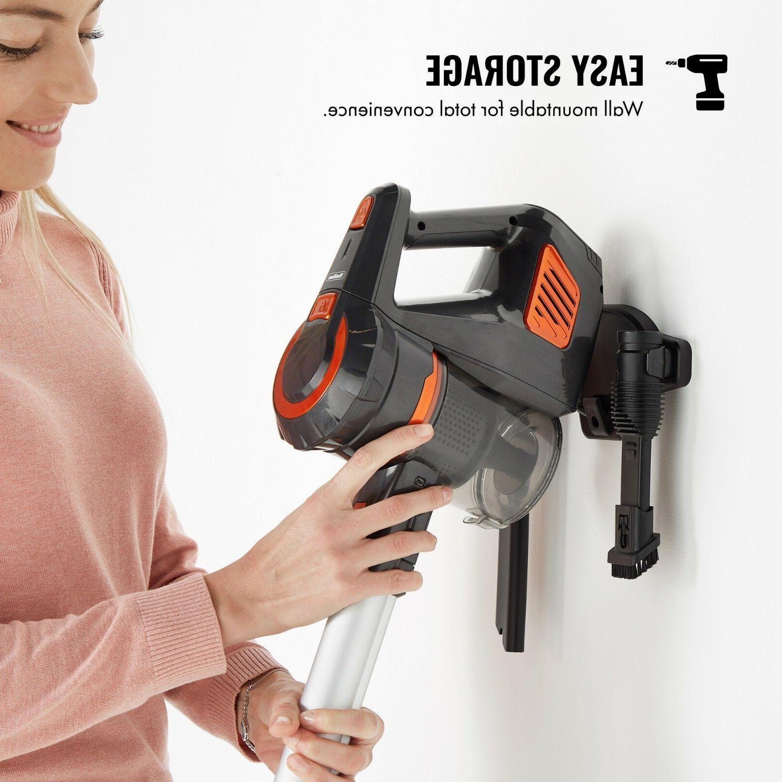 VonHaus Cordless Stick Vacuum Cleaner HEPA Bagless