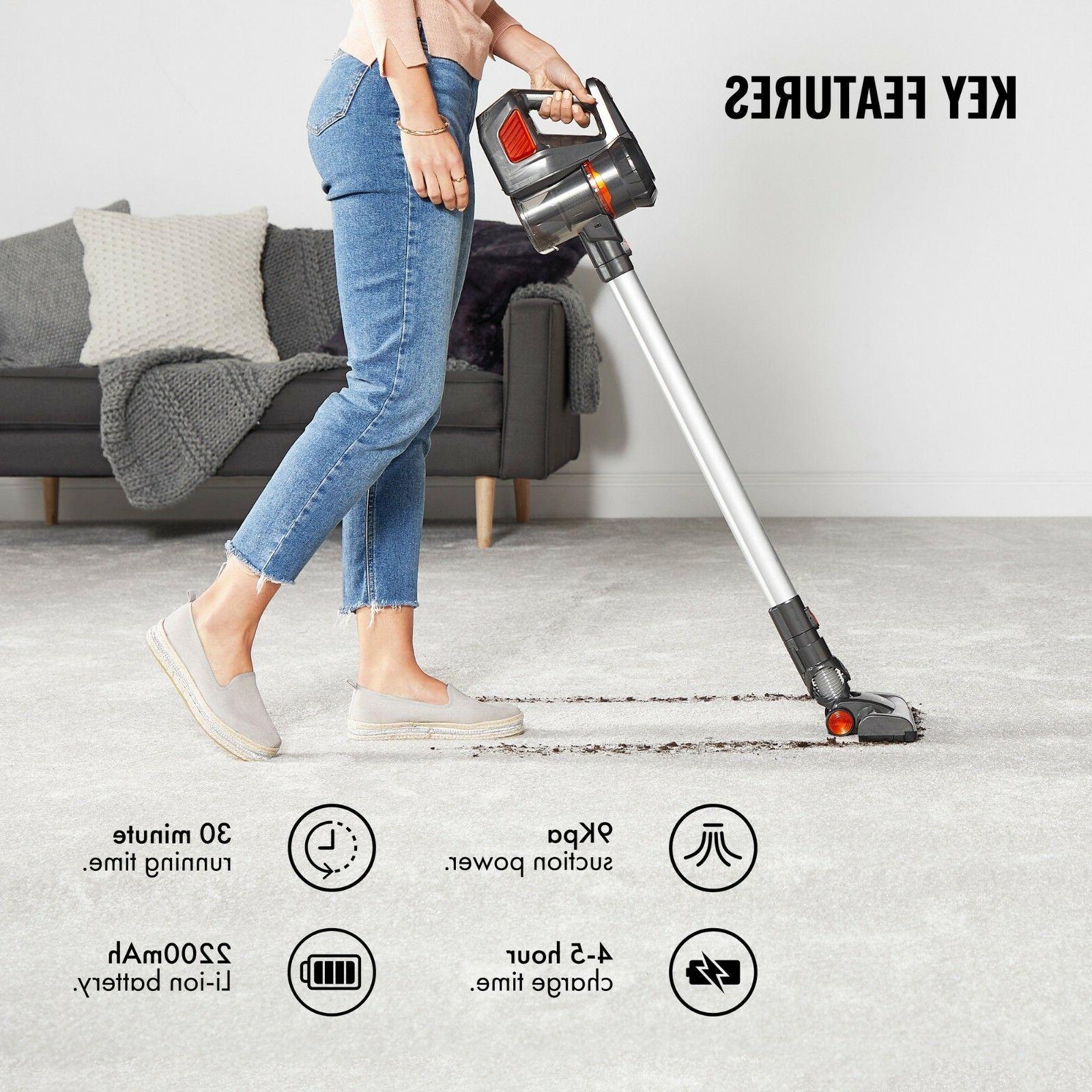 VonHaus Stick Cleaner Lightweight HEPA