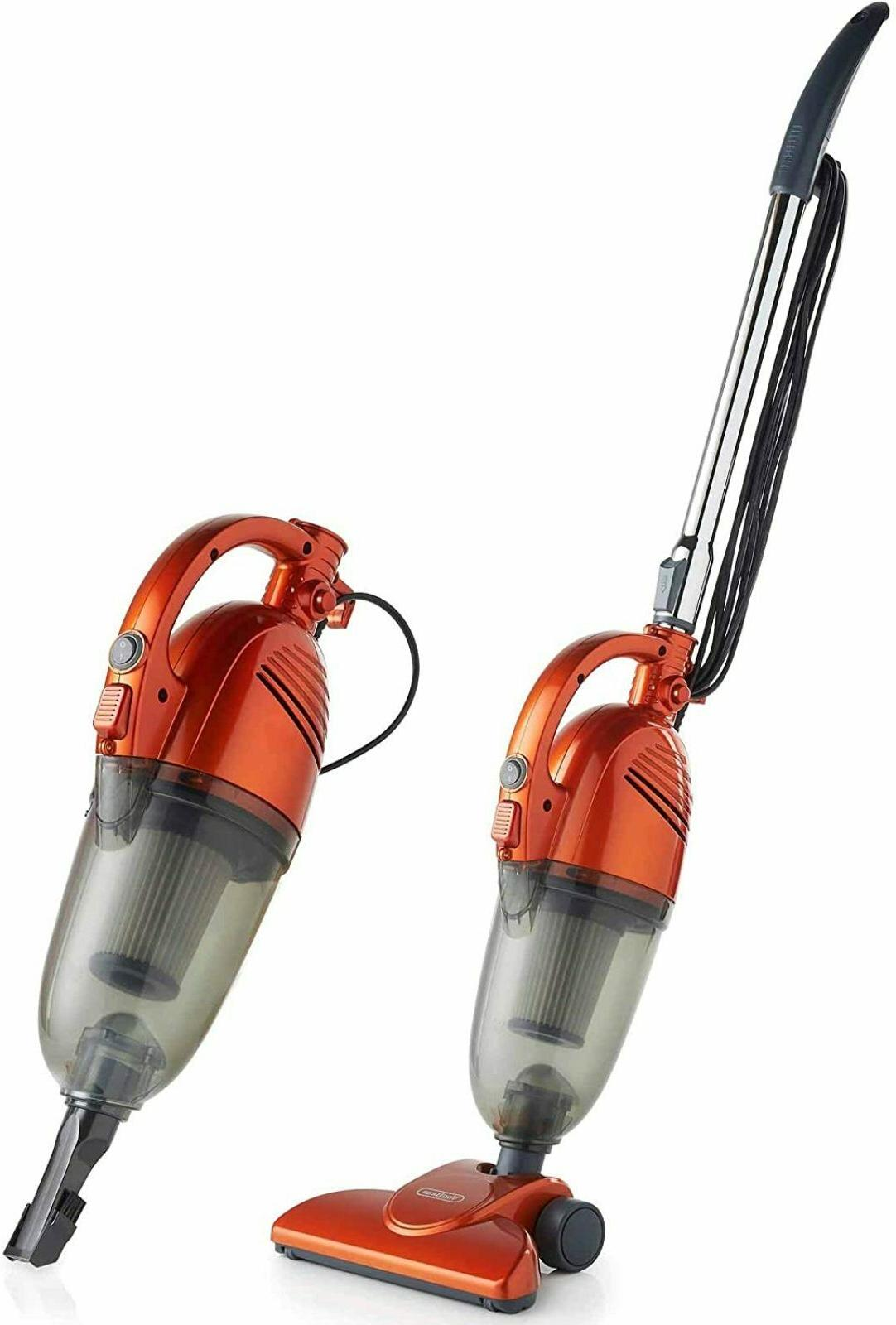2 in 1 Stick Handheld Vacuum Cleaner 600W Corded Upright Lig