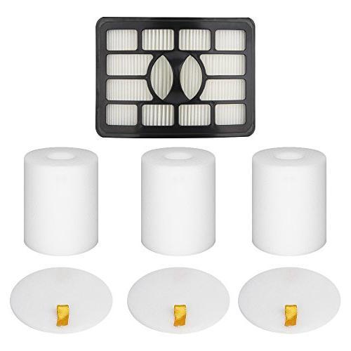 3 foam filter 1 hepa
