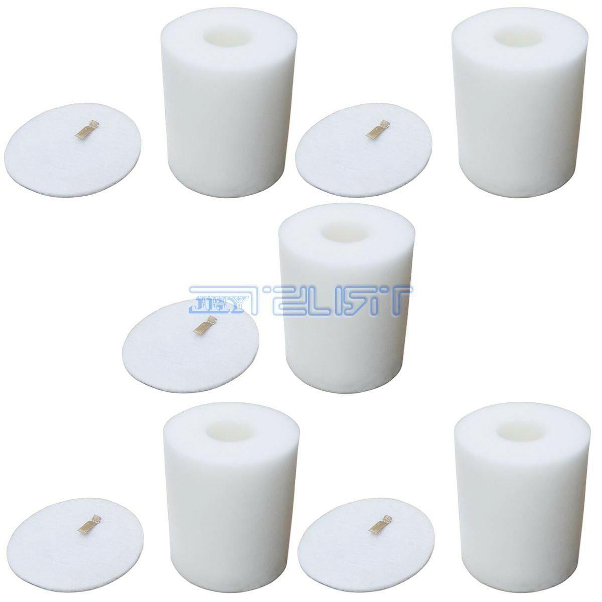 5 x foam and felt filters