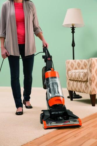 Bissell Cleanview Bagless Upright Vacuum - Orange