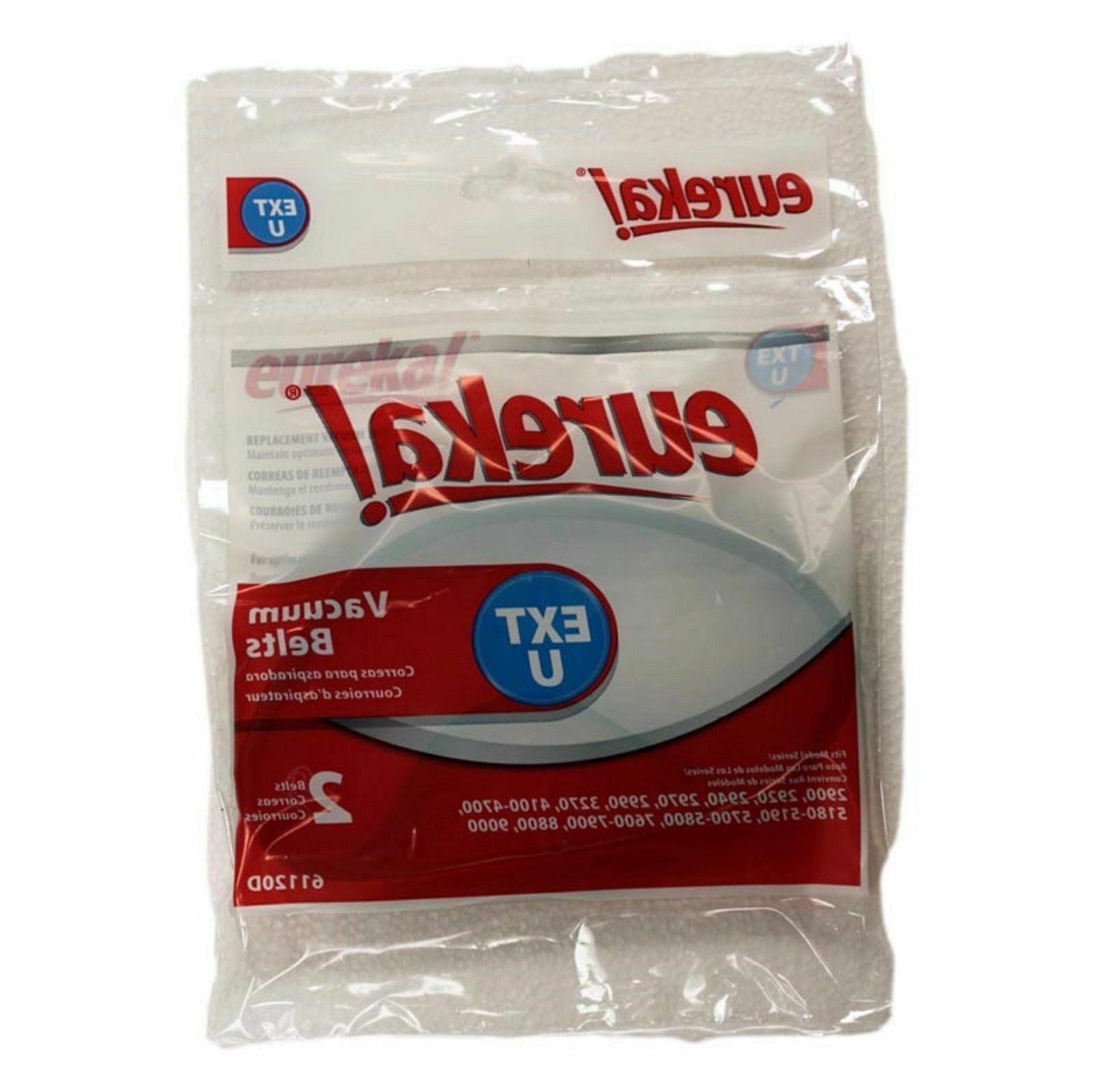 Eureka Electrolux Sanitaire Belt U Style 2 pack #61120A