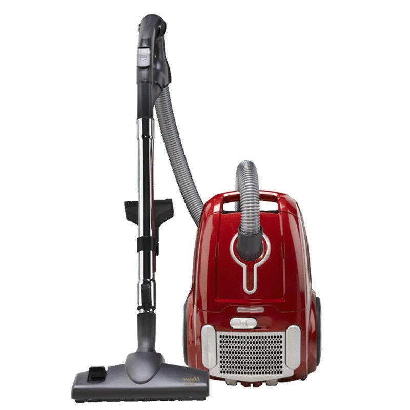 Fuller Brush - Home Maid Canister Vacuum - Metallic Red
