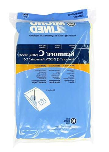 Home Care Products Kenmore 5055/50558 Lined Vacuum 10-Pack