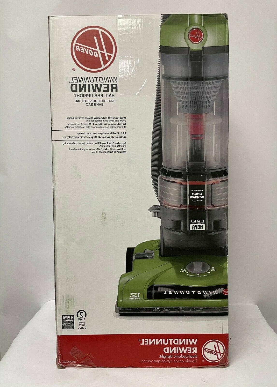 Hoover Plus Bagless Corded Vacuum UH70120, Green