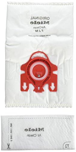Miele AirClean 3D Efficiency Dust Bag, Type FJM, 8 Bags & 4