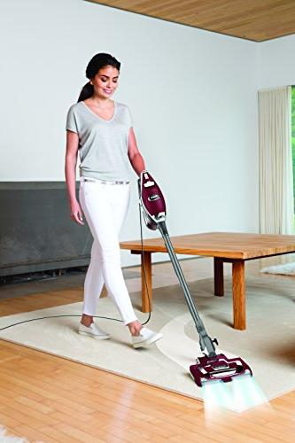 SharkNinja Upright Stick Vacuum Bordeaux