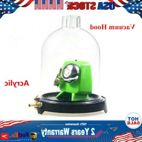 acrylic bell jar vacuum hood suction disc
