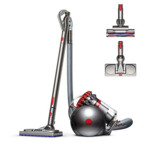 big ball musclehead canister vacuum red