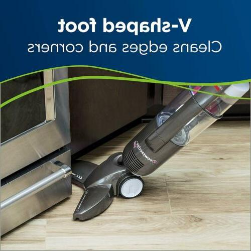 Floor Bagless Cleaner, Stick Vacuum, Gray