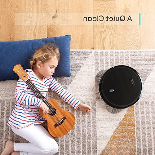 eufy 11S Suction, Quiet, Robotic Cleaner, Cleans Hard Floors Medium-Pile Carpets