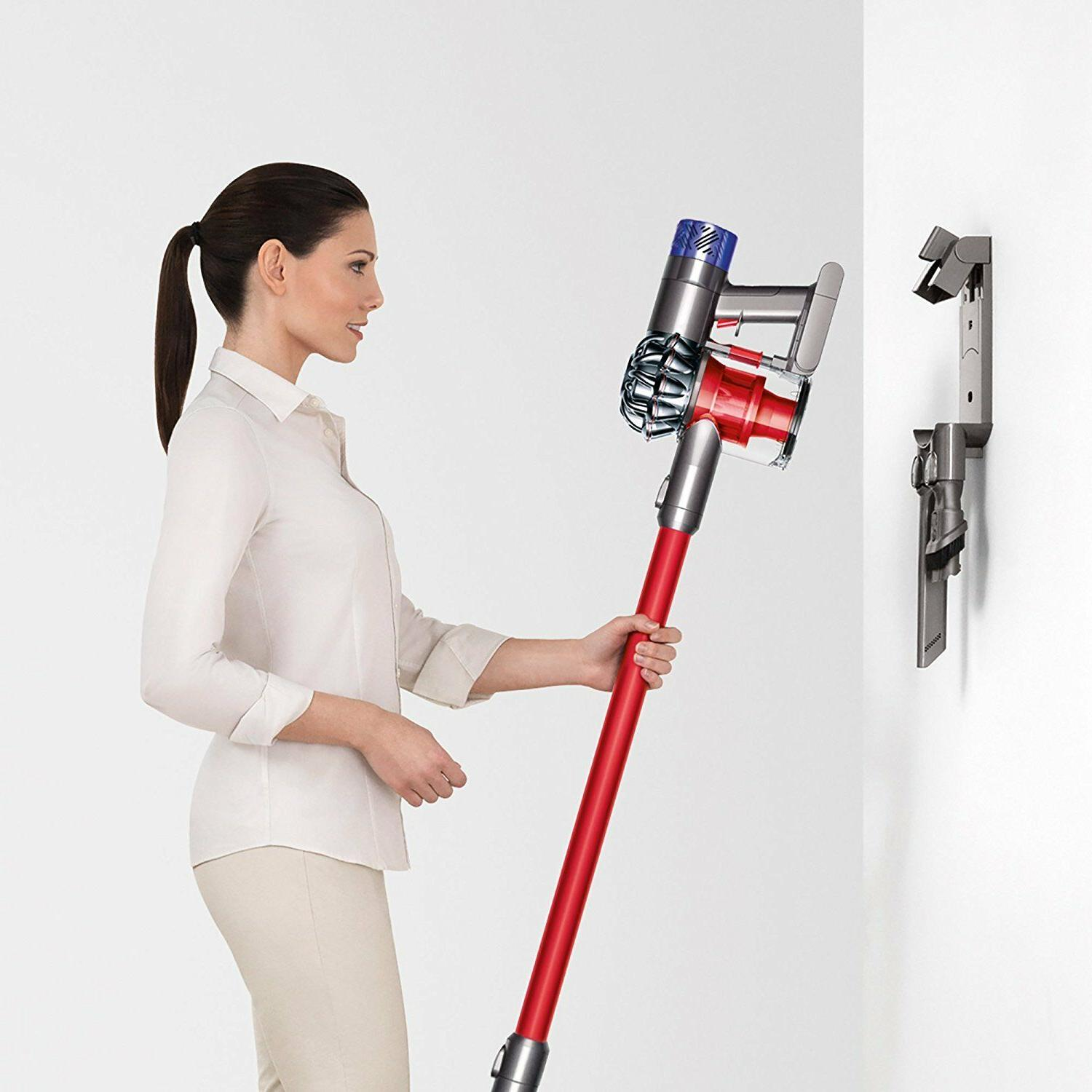 *Brand V6 Absolute Vacuum-Red/Silver- ABSOLUTE