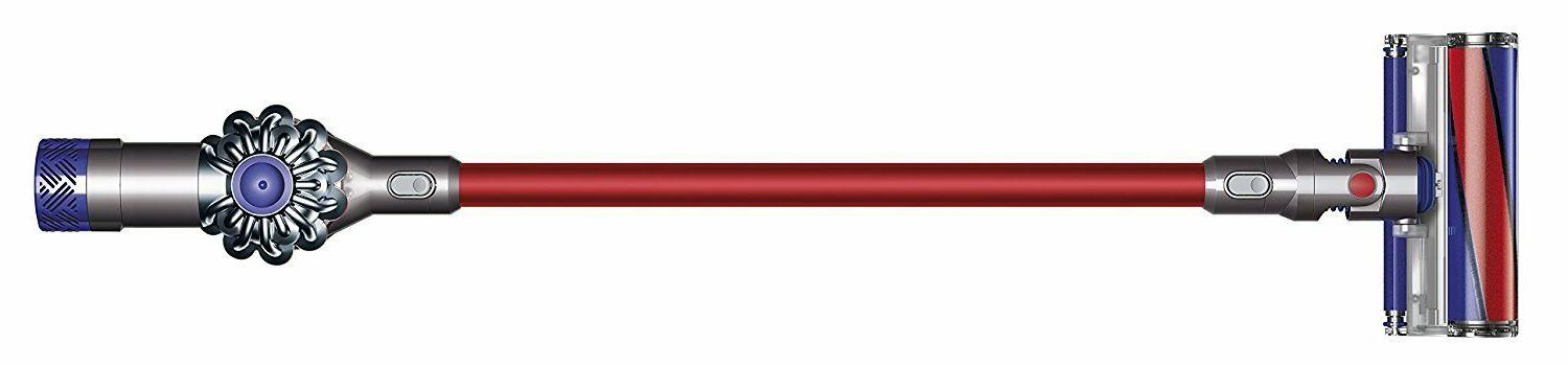 brand new v6 absolute cordless vacuum red
