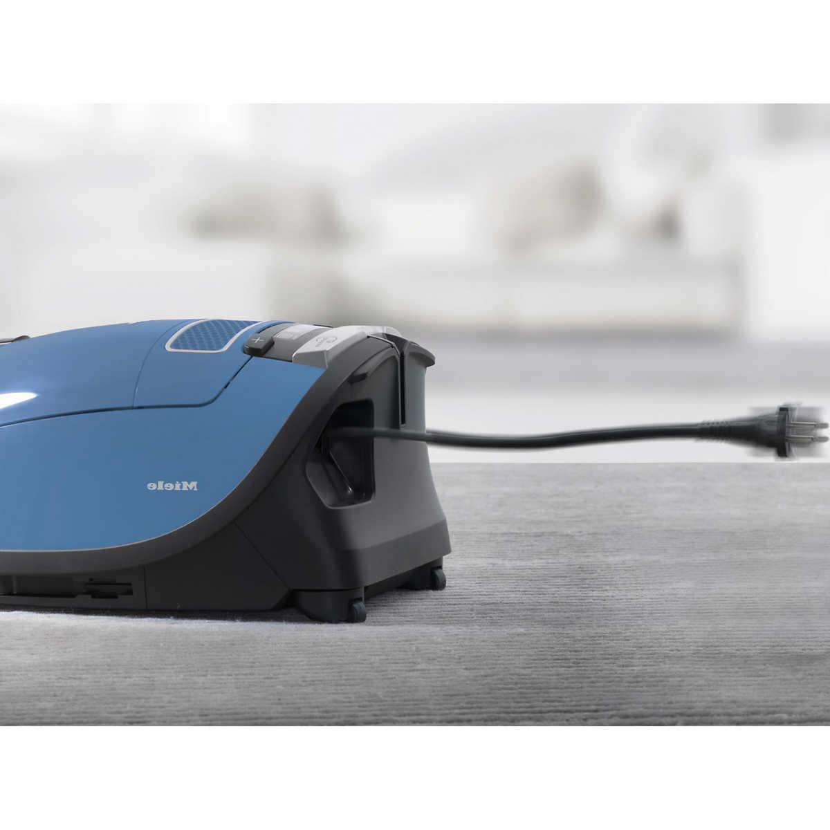Miele Powerline Canister Vacuum Cleaner Blue Color Brand New