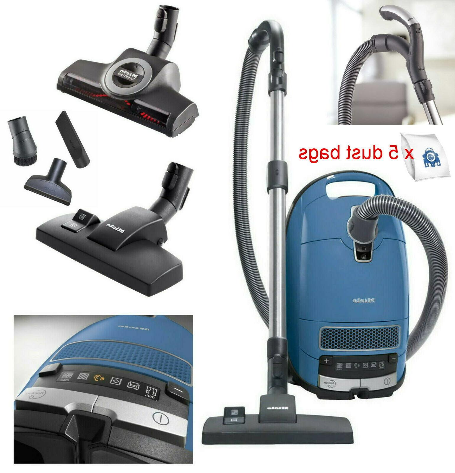 complete c3 powerline canister vacuum cleaner blue