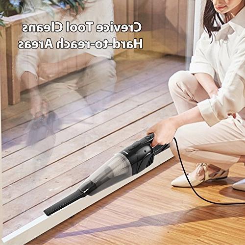 BESTEK Vacuum 2-in-1 with HEPA