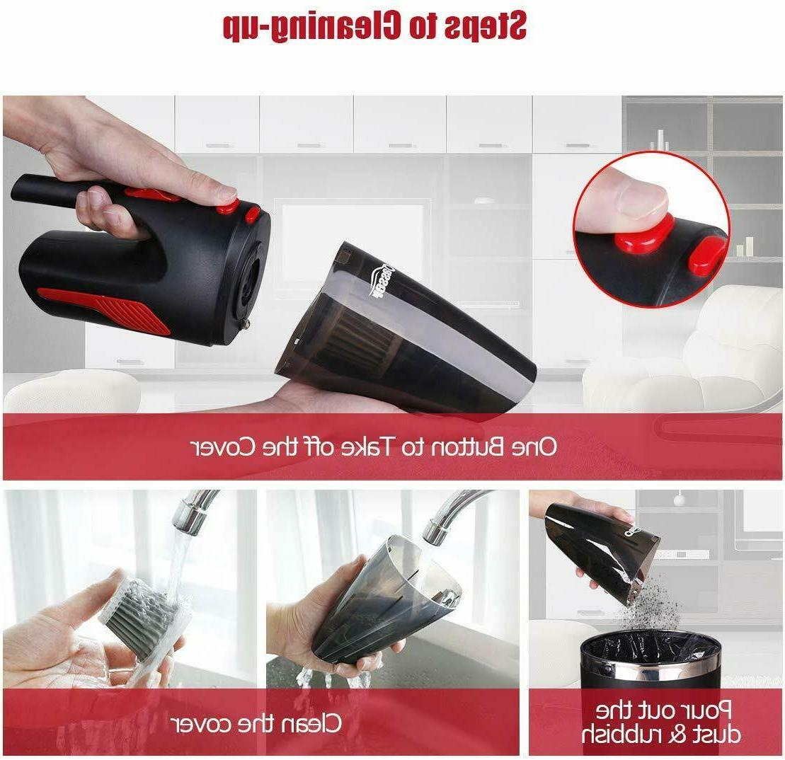 Cordless Hand Held Vacuum Car US