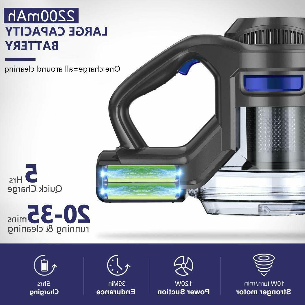 MOOSOO Cordless Powerful Suction 4 1 Clean