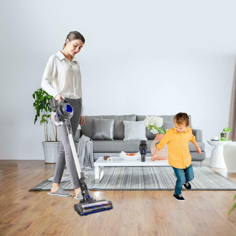 MOOSOO Cordless Powerful 4 1 Clean