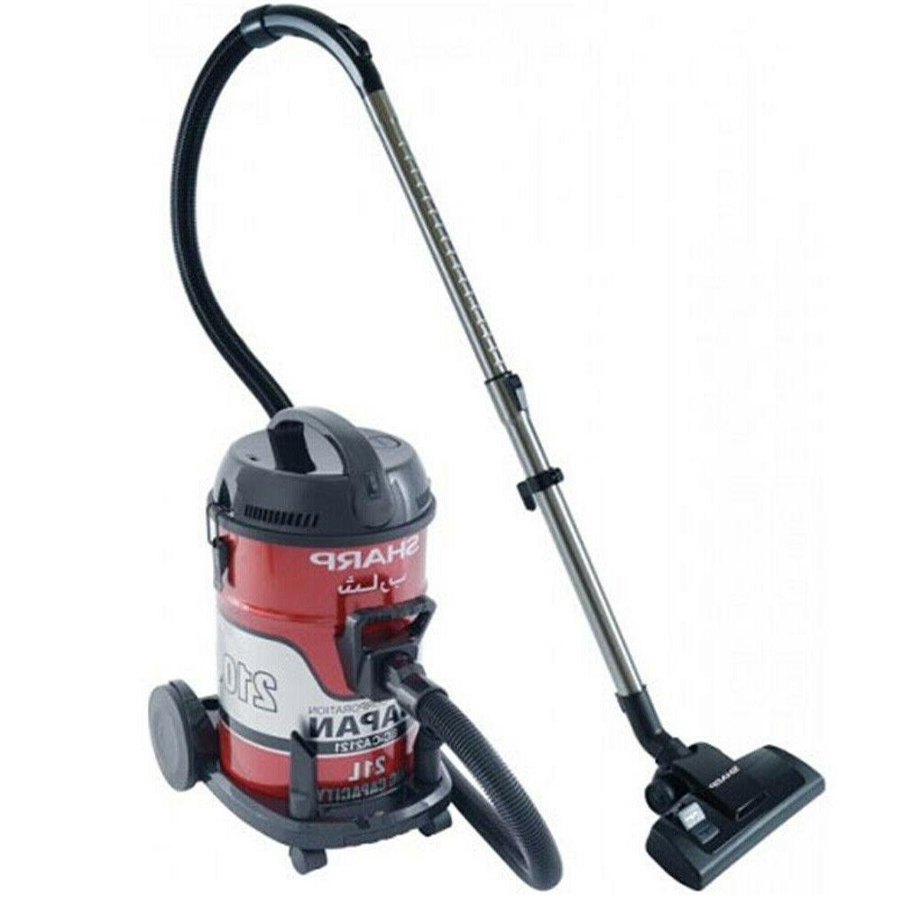 Sharp EC-CA2121 Heavy Duty 2100 Watts Vacuum Cleaner 220 Volts Export Only