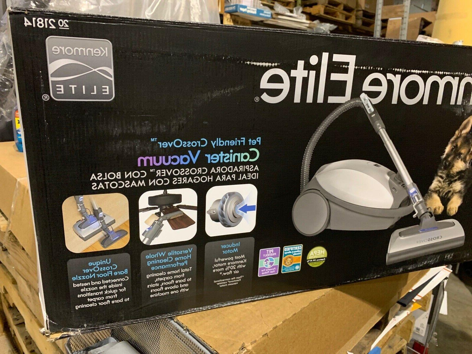 Kenmore Lightweight Bagged HEPA Vacuum Gray