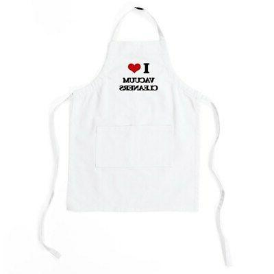 i love vacuum cleaners kids baking apron