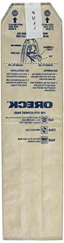 Oreck Magnesium HEPA Odor Fighting Vacuum Cleaner Bags , LWP
