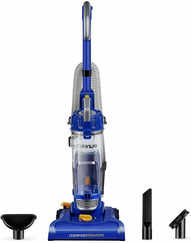 Eureka NEU182A PowerSpeed Bagless color Blue Upright Vacuum