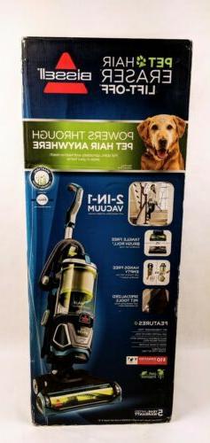 Bissell Pet Hair Eraser Lift Off Bagless Upright Vacuum Blue