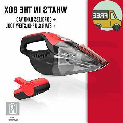 Dirt Devil Plus Quick Flip Pro 16 Volt Bagless Handheld