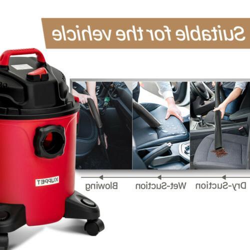 Portable 5.3 Gallon Wet Vac 3.5 HP w/