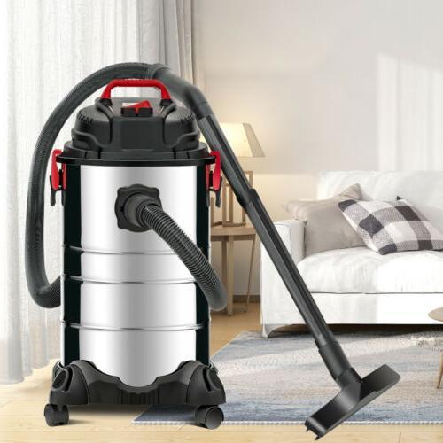 Portable 8 Wet Vacuum Vac Shop Stainless Steel