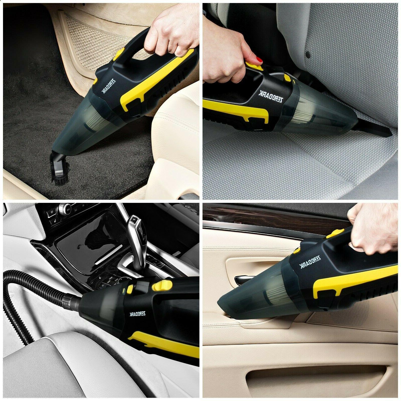 ZeroDark™ Wet/Dry Cleaner Inflator Hand Held For Car