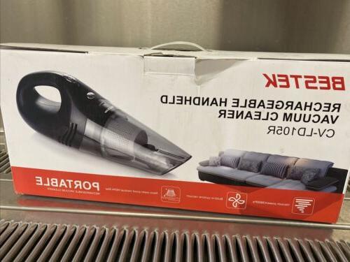 Bestek Rechargeable Handheld Portable Vacuum Cleaner, Seal