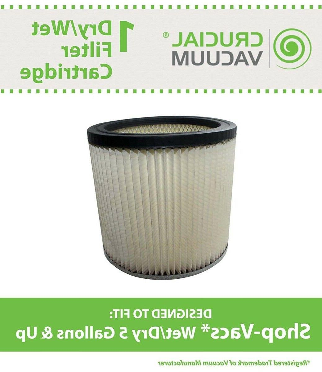 replacement shopvac dry wet cartridge filter part