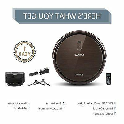 ECOVACS Vacuum Cleaner with App Controls