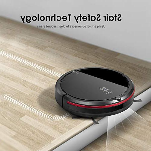 DEIK Robotic Vacuum with Schedule Cleaning, Self-Charging, Filter, 5 for Hard Floor
