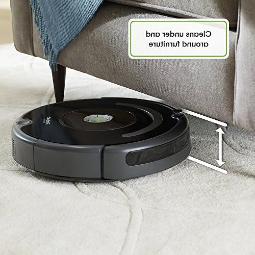 iRobot Vacuum Wi-Fi Works Alexa, for Hair, Hard Floors