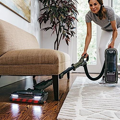 Shark DuoClean Vacuum for Carpet Hard with Powered Lift-Away Hand Vac, HEPA Filter, , Green
