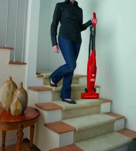 Dirt Simpli-Stik in One Vacuum Cleaner, Red