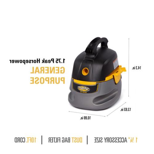 Small Portable Wet/Dry Car Vacuum Blower