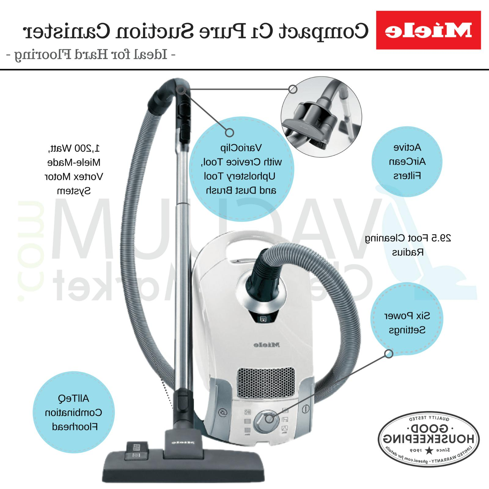 Miele Pure Suction Compact Cleaner | Authorized