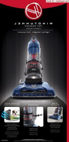 T-Series WindTunnel Bagless Cleaner Blue