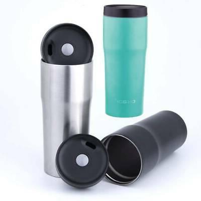 travel mug 480ml stainless steel mug double